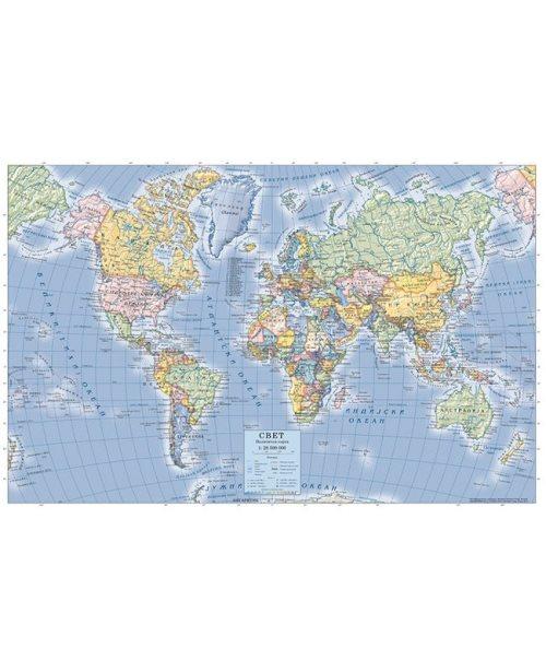 Г021 - Свет политичка карта