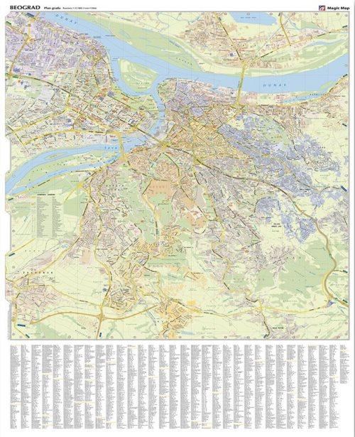 Г022 - Београд план града