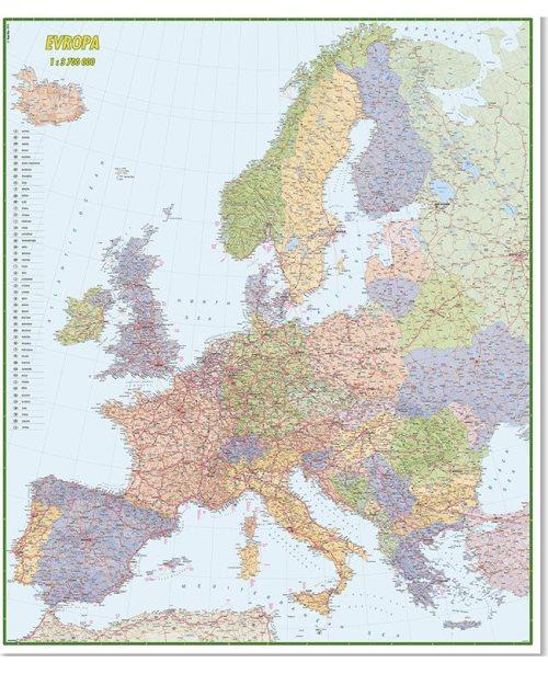 Г011 - Европа ауто карта