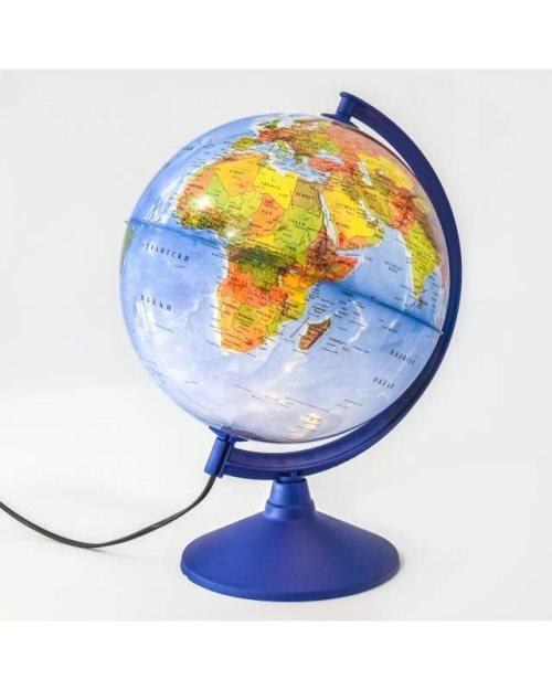 Г055 - Светлећи глобус физичко-политички пиши-бриши
