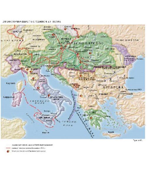 И018 - Југоисточна Европа средином XIX века