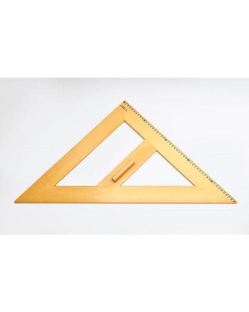М001 - Дрвени једнакостранични  троугао 60х60 cm