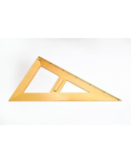 М002 - Дрвени neједнакостранични  троугао 45х50 cm